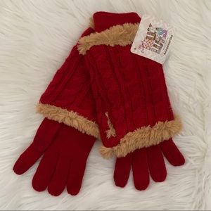 NEW 🔥 Muk Luks Knit Gloves and Wrist Warmers